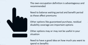 to summarize disability insurance basics for dental hygienists and dental assistants
