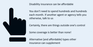 summarizing that disability insurance for mechanics can be affordable