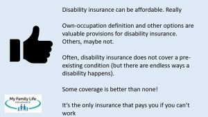 to discuss basics of disability insurance for secretaries and office managers