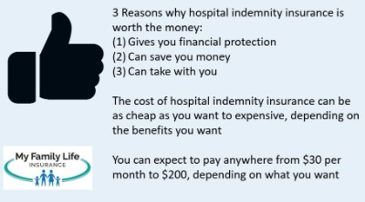 reasons to get a hospital indemnity insurance policy