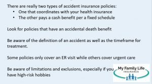 show what to look for in a best personal accident insurance policies