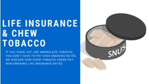 discuss how chew users obtain non-smoker life insurance rates