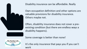 important aspects of disability insurance for doulas